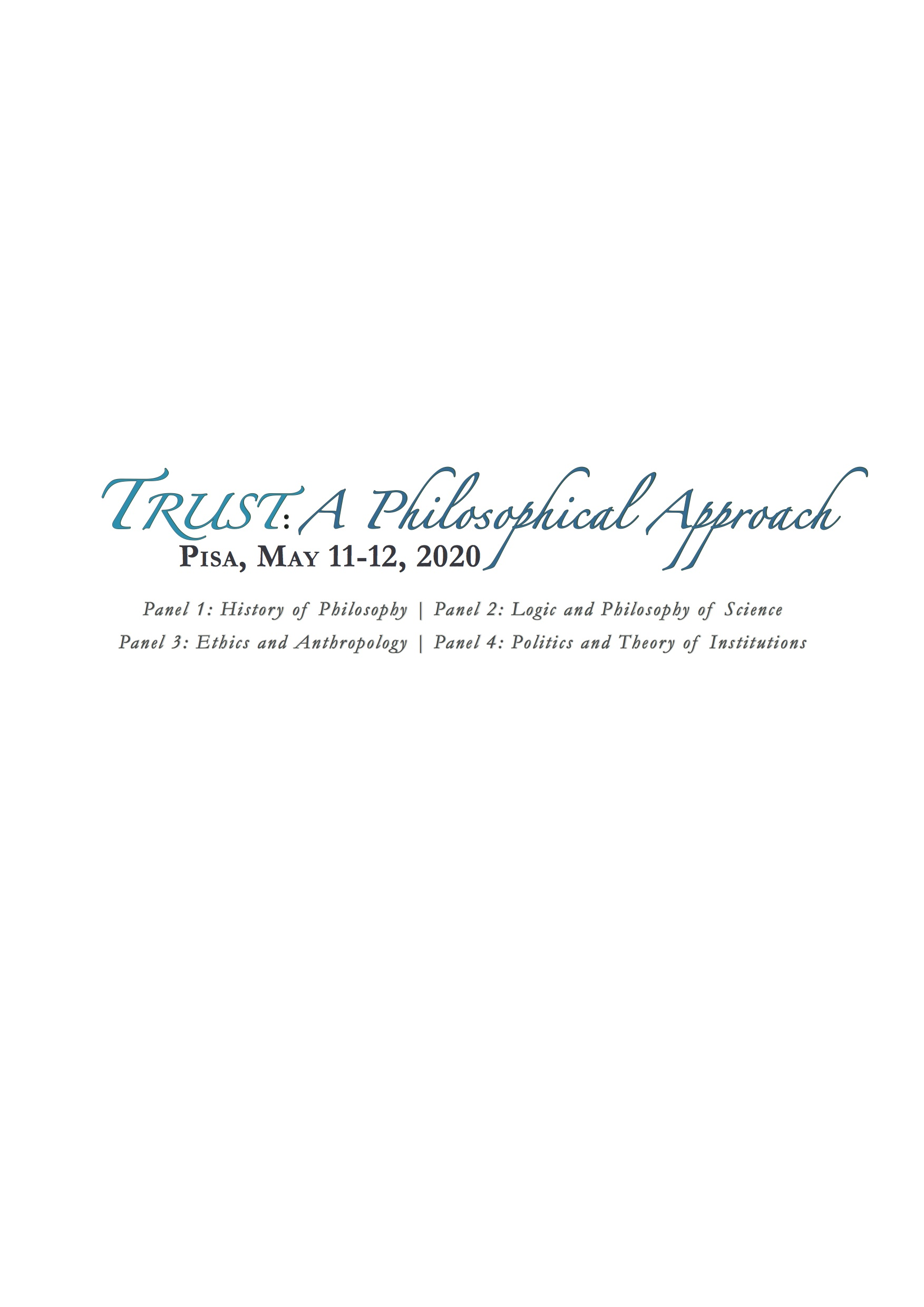 Trust: A Philosophical Approach